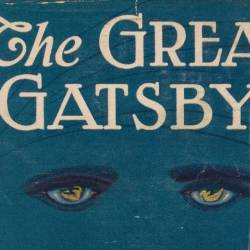The Great Gatbsy by F. Scott Fitzgerald