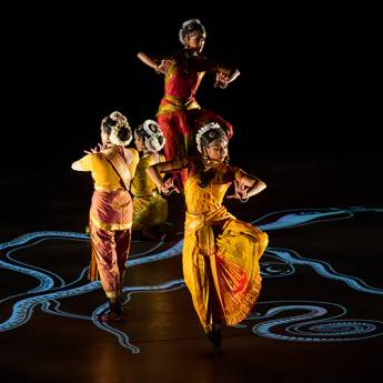Ragamala Dance Company - Written in Water - Ranee Ramaswamy and Aparna Ramaswamy, Co-Artistic Directors