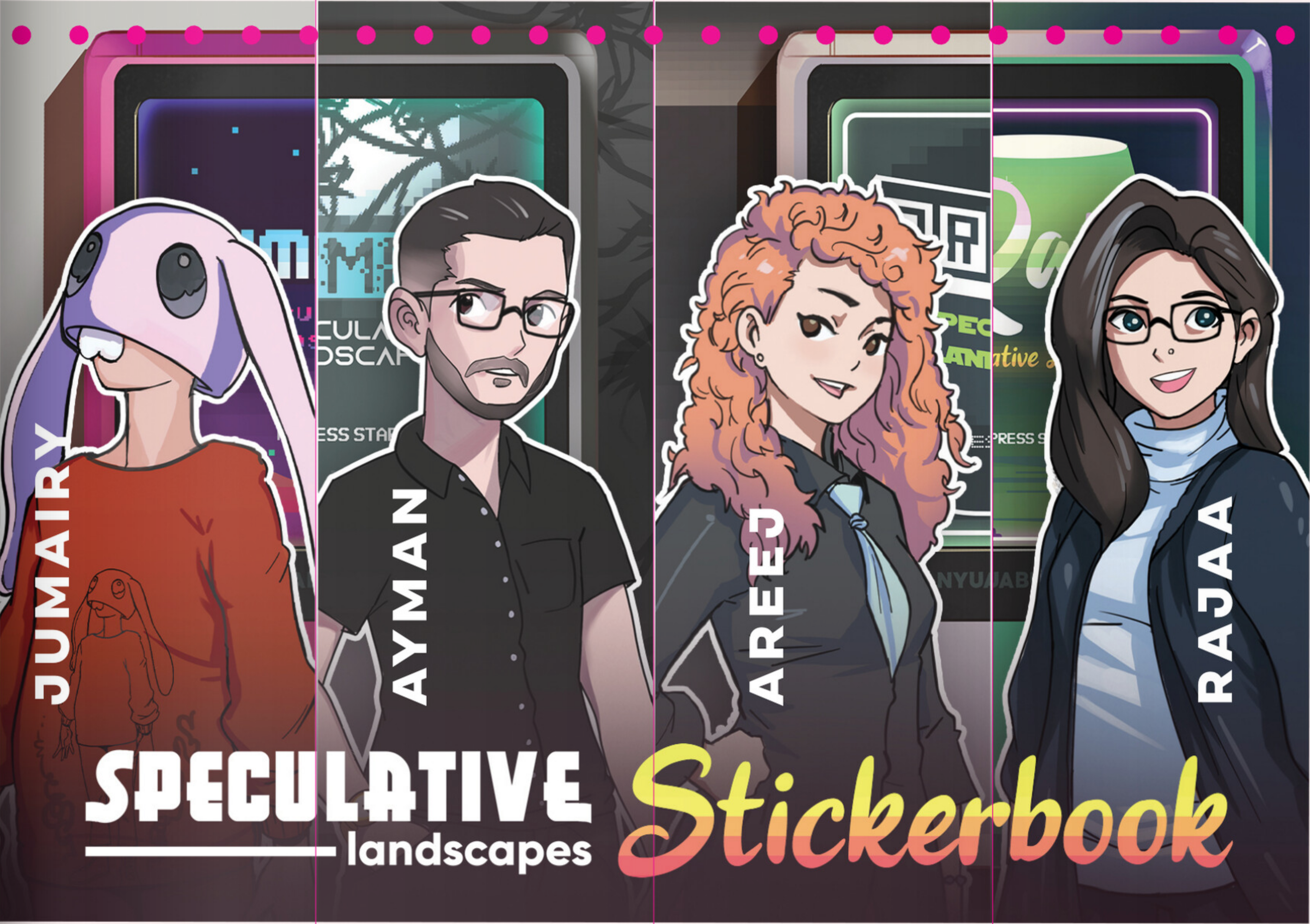 Sticker Book-Youth Guide-Speculative Landscapes
