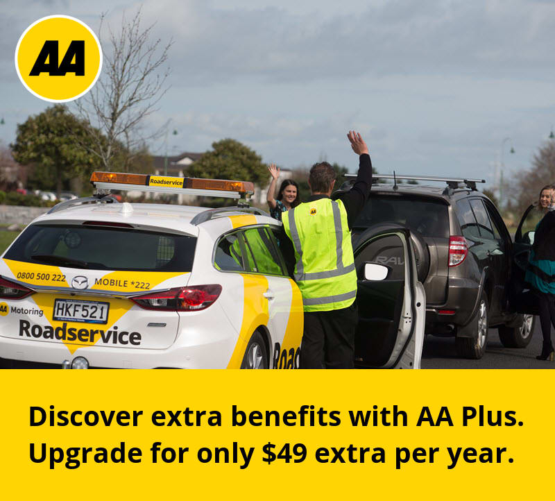 Get extra benefits with AA Plus