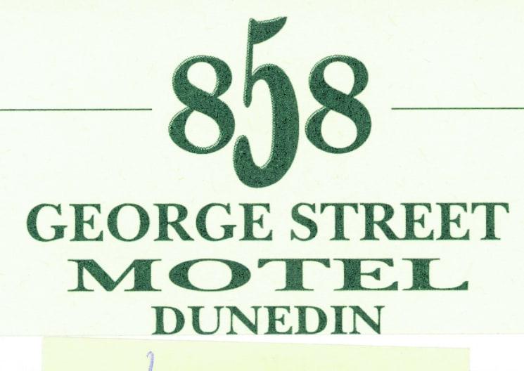 858 George Street Motel