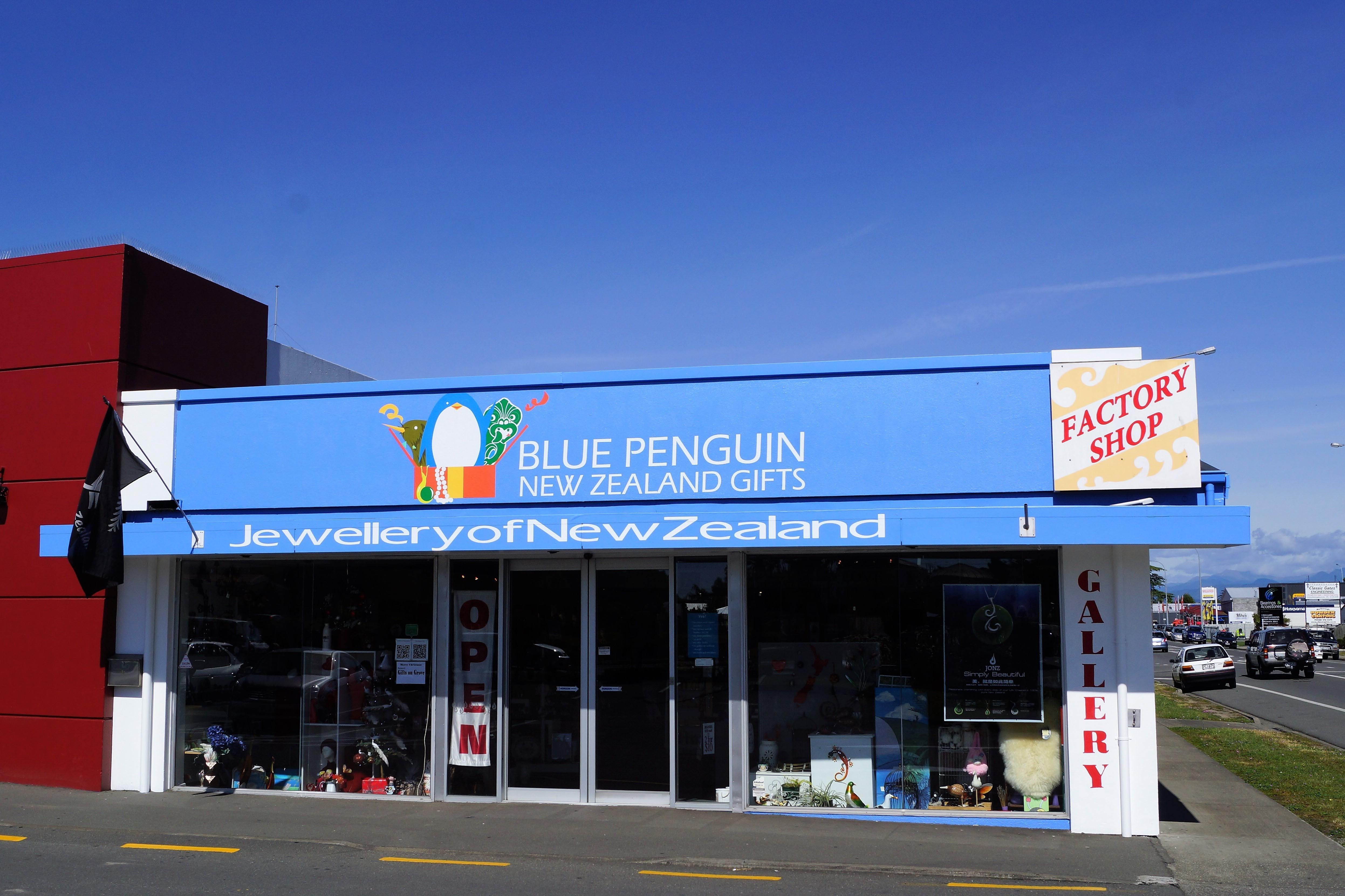 Jewellery of NZ - Blue Penguin Gifts