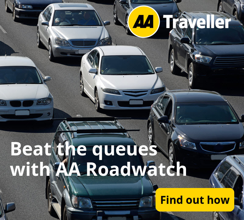 Beat the queues with AA Roadwatch