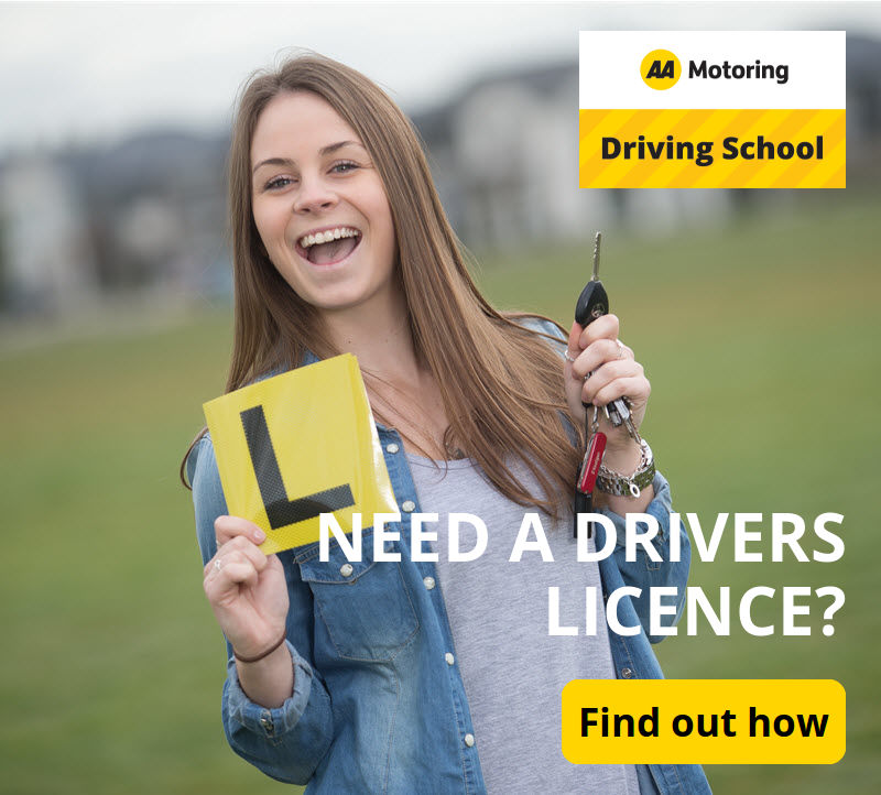 Need a Driver's licence? Fnd out more