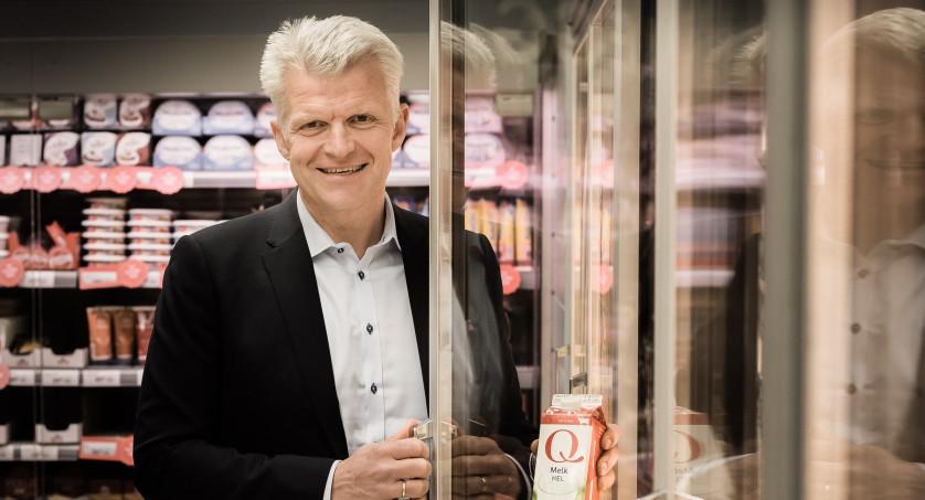 Erik Volden med Q-melk