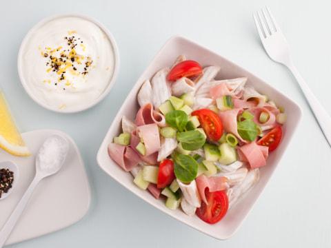 Bilde av Sommerlig pastasalat med nylanseringen Drømmelett® fra Q-Meieriene