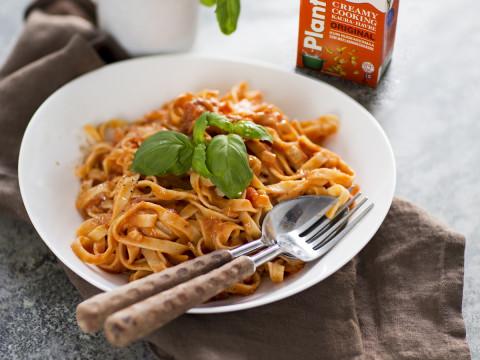 Krämig tomatsås med Creamy Cooking