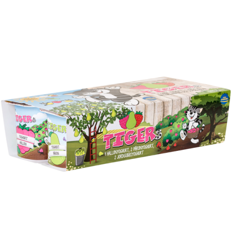 Tigers yoghurt 8-pack