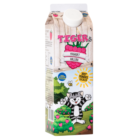 Tigers yoghurt hallon