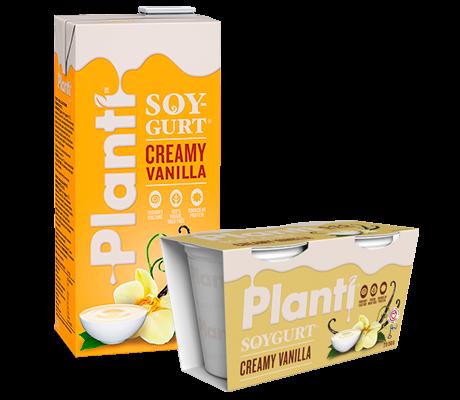 Planti Soygurt Vanilj samlingsbild