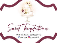 C&F Sweet temptations cakes