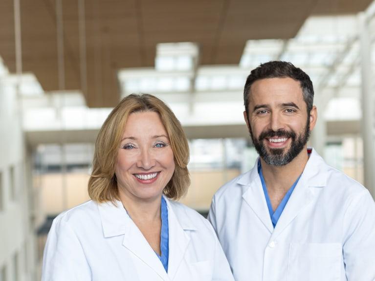 OAG Physicians smiling at Legacy Emanuel Hospital