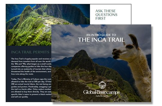 inca trail guide