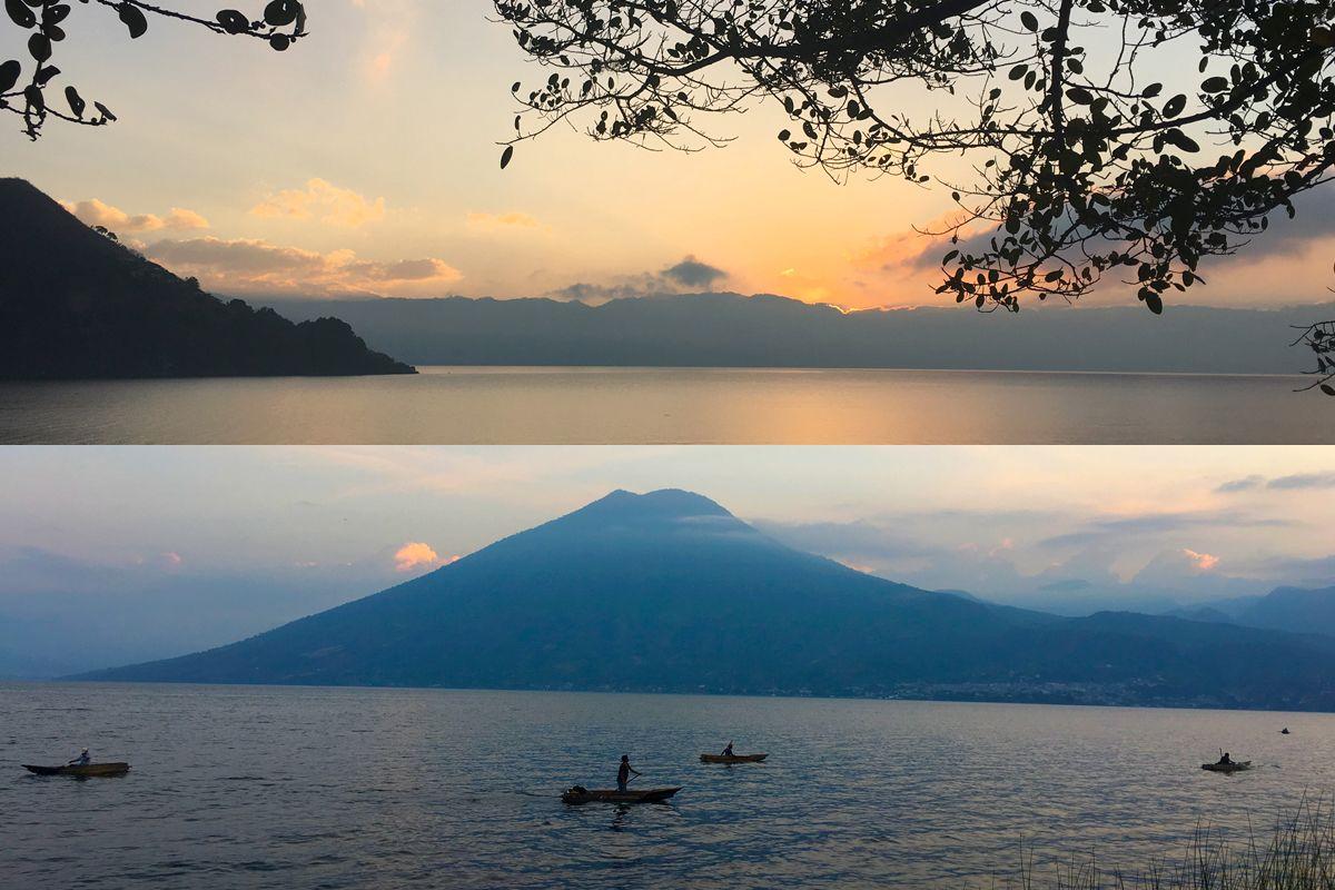Guatemala tours sunset
