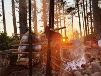 Traditional Native Salmon Bake and Storytelling