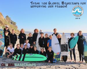Diegueno Middle School Surf Team