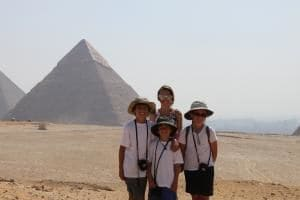 Custom trip to Egypt and China