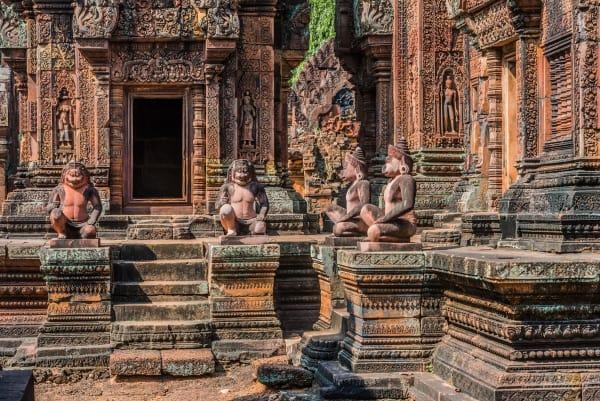 Siem Reap: Banteay Srei & Les Artisans