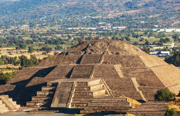 Teotihucan Ruins