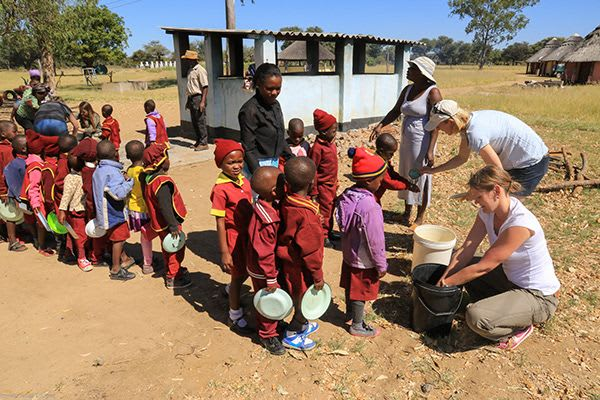 Hwange School Lunch Program