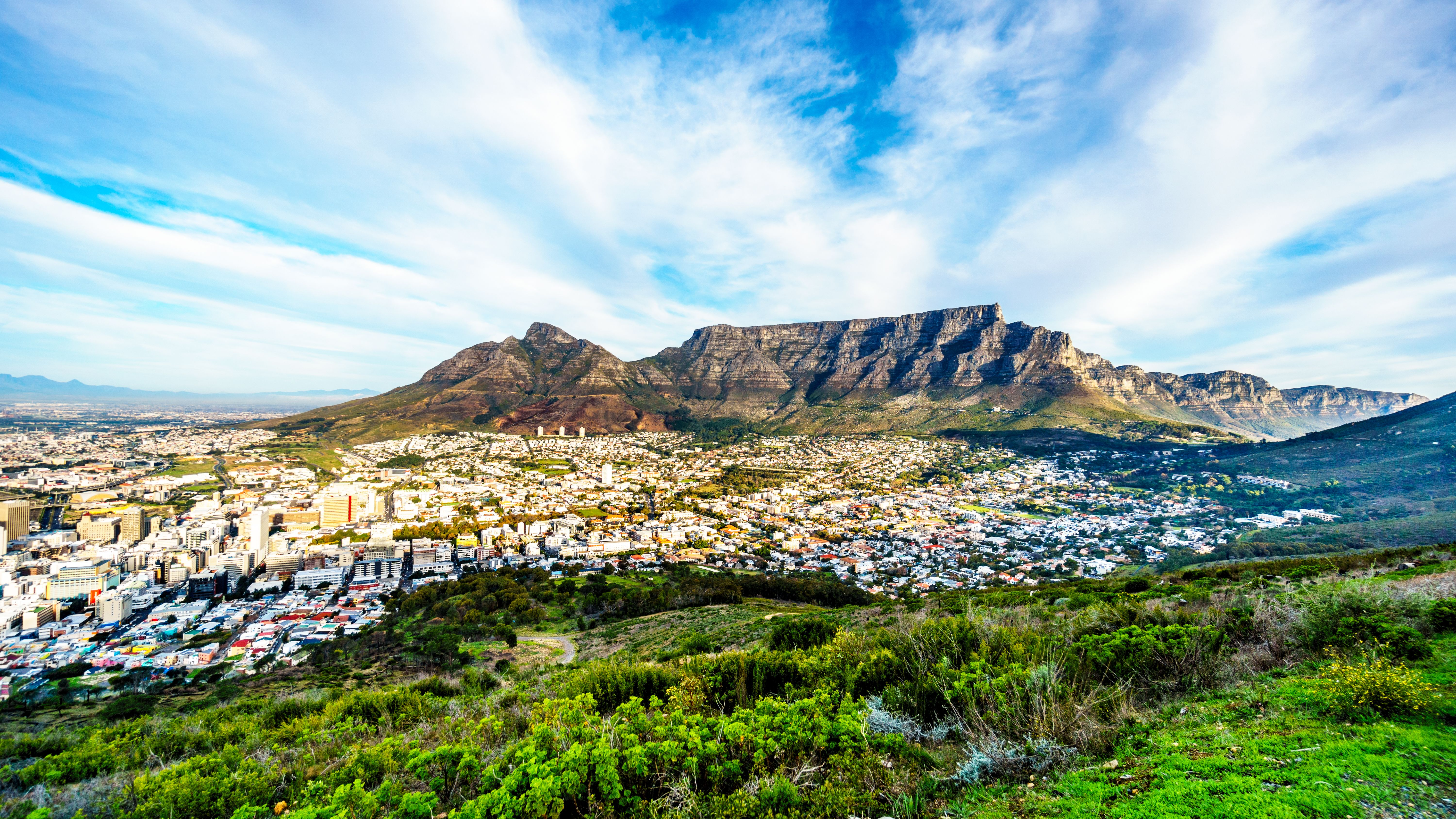 Cape Town Aeiral Landscape View