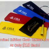 cloth racket covers