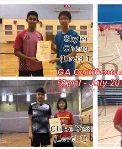 ga certificate achievers