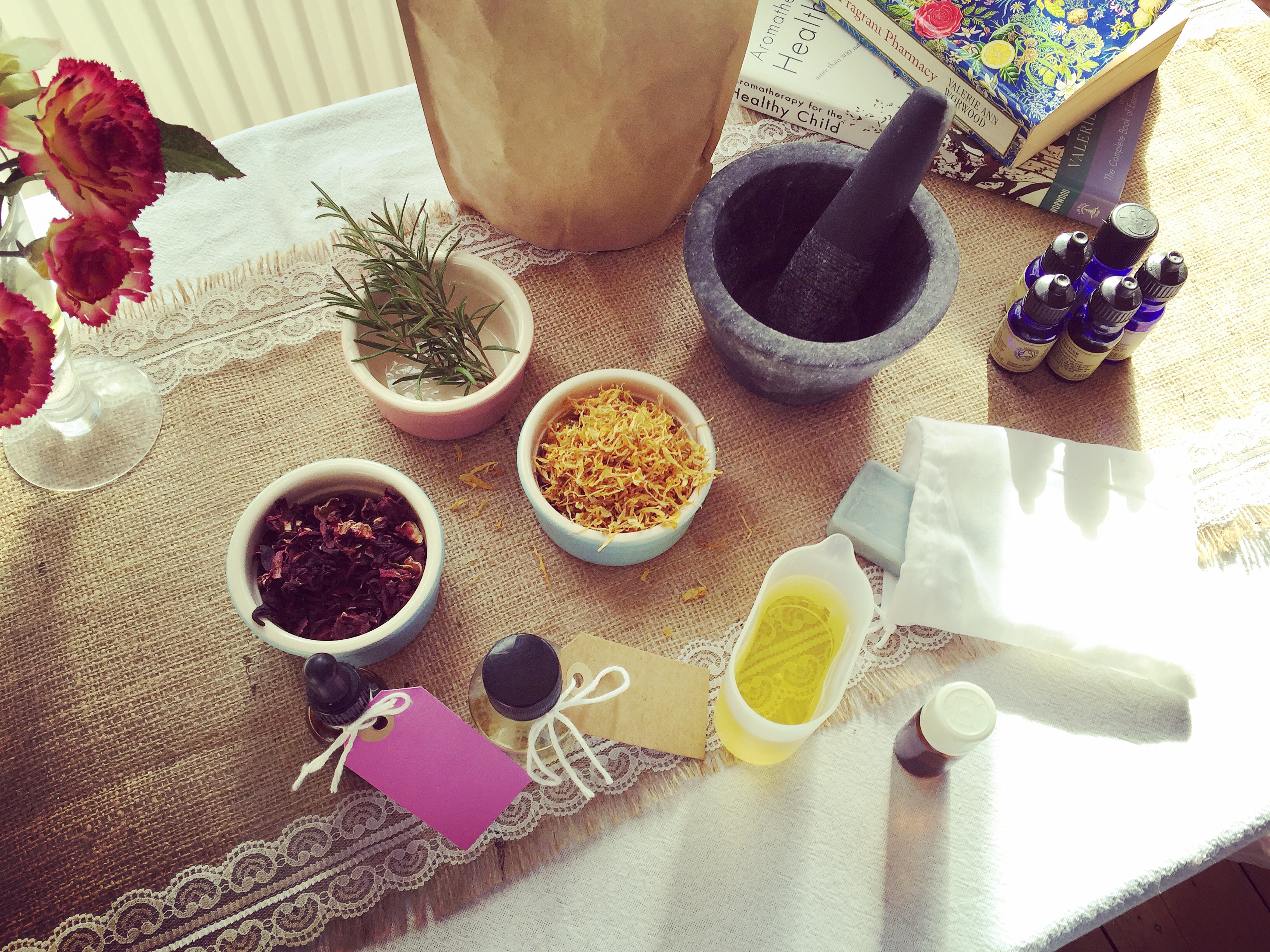 Lotions and Potions Private Workshop by Chamomile Lawn - health-and-beauty in London