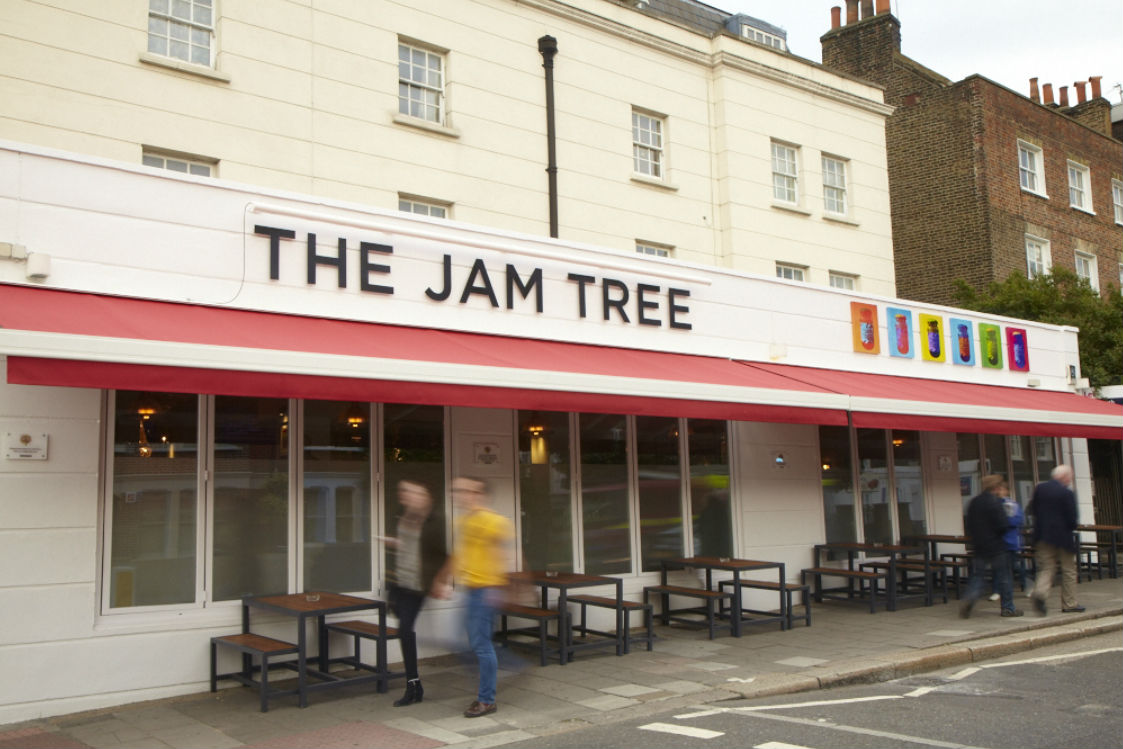 The Jam Tree undefined classes in London