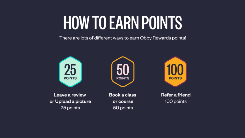 Get rewarded whilst learning something new