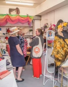 Strawberry Hill Hats crafts classes in London