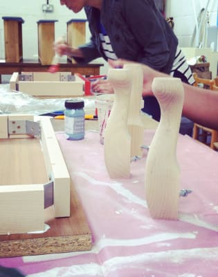 Upholstery Course: Make a Footstool by The Old School Club - crafts in London