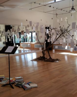 Reading and Writing with a Tree by Object Book - crafts in London