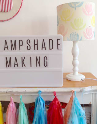 Bespoke Lampshade Making by Tea & Crafting - crafts in London