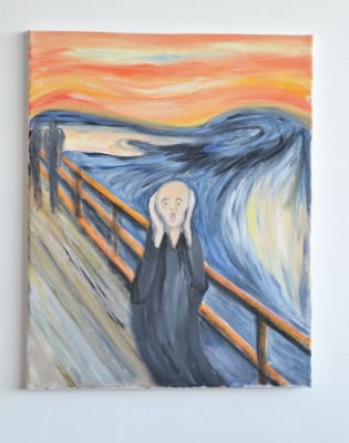 Paint The Scream: Clapham by PopUp Painting - art in London