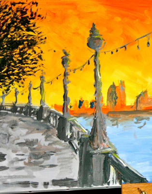 Paint London: Richmond by PopUp Painting - art in London
