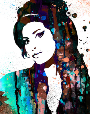 Paint Amy Winehouse Special! by PopUp Painting - art in London