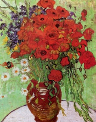 Paint Van Gogh's Poppies and Help the Heroes - Bayswater by PopUp Painting - art in London