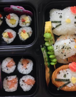 Hello Kitty Bento Making Class by Alice Sushi Art - food in London