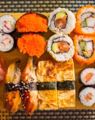 Introduction to Sushi: Rolling Forward by Alice Sushi Art - food in London