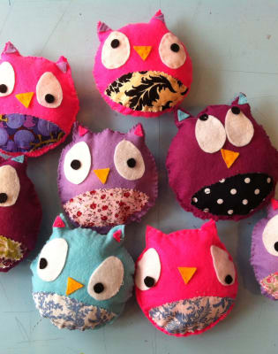 Funky Owls & Spooky Bats by The Sewcial Circle - crafts in London