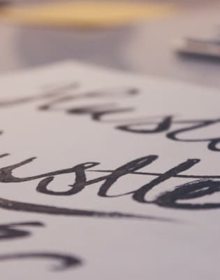Calligraphy Class for Beginners by Shepherds Bookbinders - art in London