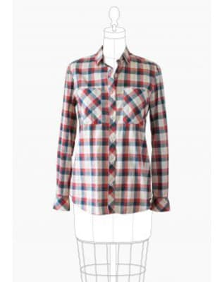 Sew a Woman's Button Down Shirt with Rachel Pinheiro by The Village Haberdashery - crafts in London