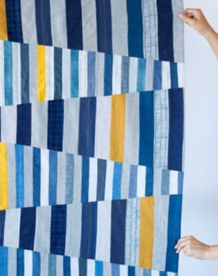 Improvisational Patchwork with Jenny Haynes by The Village Haberdashery - crafts in London