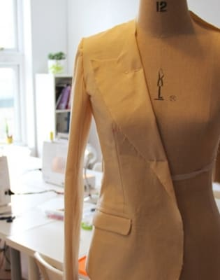 Professional Garment Sewing: Jacket Making by Fashion Antidote - crafts in London