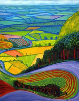 Paint Hockney: St Albans by PopUp Painting - art in London