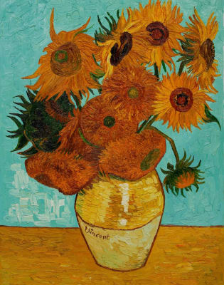 Paint Van Gogh's Sunflowers - St. Paul's by PopUp Painting - art in London