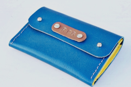 Leather purse or wallet - Obby
