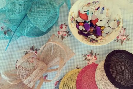 Everything you need to know to make your own fascinator for the wedding season is in this workshop in Camden!
