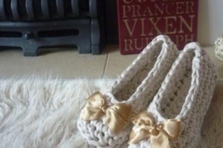 Crochet: slippers - Obby